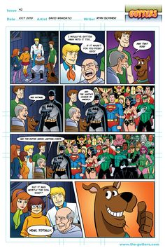Kilowog will do it for FOUR Scooby Snacks.    Gutters - Issue #42 by David Namisato