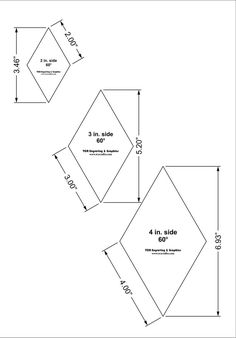 Quilting Templates, Quilting Tips, Quilting Tutorials, Hand Quilting, Barn Quilt Designs, Barn Quilt Patterns, Tumbling Blocks Quilt, Quilt Blocks, Lone Star Quilt Pattern