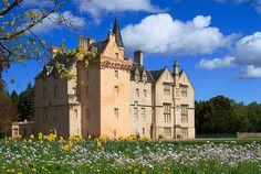 Brodie Castle, near Forres, Moray, Scotland.