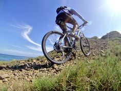 Uphill en la isla de Margarita #Venezuela bella y #Gopro