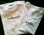 Husband and Wife T-shirt set
