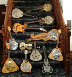 STRANGE GUITARS AND MANDOLINS