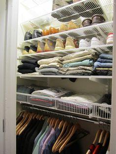 Luxury Elfa Linen Closet