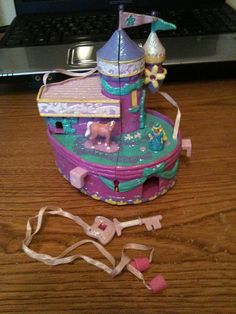 Star Castles! Oh my God, I remember these! I had one when I was really little. But not the cool castles that doubled as working teapots, darn it. I'm really disappointed I couldn't find an image of the one I owned.