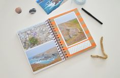 L'ALBUM PHOTO FAÇON CARNET DE VOYAGE | Les yeux en amande Album Photo Scrapbooking, Album Photos, Art, Almond Eyes, Cute Stuff, Vacation, Craft Art, Kunst