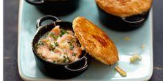 Mini cocottes au saumon