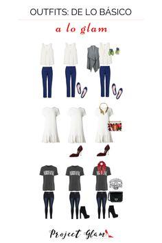 Detalles que hacen una gran diferencia.   Disfruta de más consejos en nuestro blog y síguenos en Instagram: @projectglamm Cosmo Girl, Chic, My Style, Blog, Womens Fashion, Clothes, Shallow, Dresses, Instagram