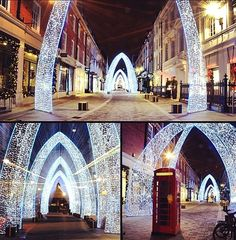 Christmas Decorations In London…http://daily-meme.tumblr.com/