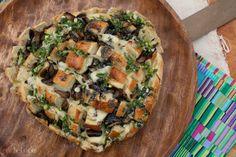 girlichef: Bloomin' Mushroom & Swiss Sourdough Loaf
