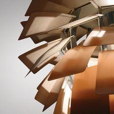 Poul Henningsen: The Artichoke, 1958  Made by Louis Poulsen. Copper