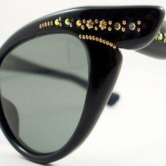 Vintage+50s+Frame+France+Cat+Eye+Glasses+by+VintageEyeglassesCat,+$100.00
