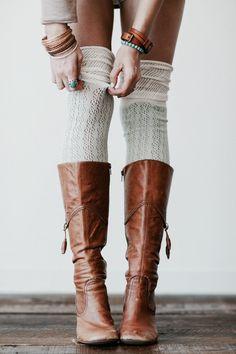9e8697edd2 Socks and boots look so good 😍  boots  socks  ebayfashion Botas Largas