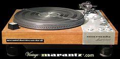 Marantz 6300  -  vintage-marantz.com Hifi Turntable, Home Cinemas, Audio Equipment, Retro, Tech, Kit, Vintage, Turntable, Record Player Table