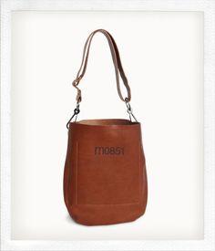Perenea: Heavy Pebble Raw Edge Leather Hobo Bag. Winter Look ...