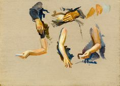 #Charles #Cundall: #Study of #arms and #hands #painting #art #sketch #Britishart #modernart Art Studies, Painting Art, Modern Art, Arms, Sketch, Study, Arm, Sketch Drawing, Drawings