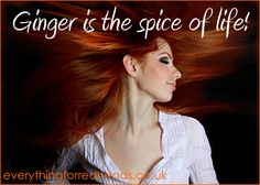 Redhead Quotes in pictures - Everything for Redheads Redhead Memes, Fiery Redhead, Redhead Facts, Irish Redhead, Natural Red Hair, Natural Redhead, Red Hair Quotes, Ginger Jokes, Redheads