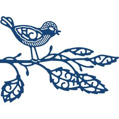 Tattered Lace Metal Die - Birdsong