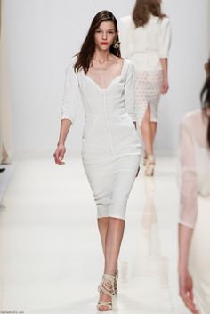 Kate Bogucharskaia for Valentin Yudashkin S/S 2014 • Paris fashion week