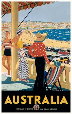 Take a trip into the past: rare Australian vintage travel posters – in pictures Informations About Take a trip into Art Deco Posters, Room Posters, Retro Posters, Theatre Posters, Band Posters, Music Posters, Poster S, Poster Prints, Tourism Poster