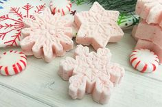 Create your own home spa by adding DIY Peppermint Bath Bombs and enjoying a relaxing...