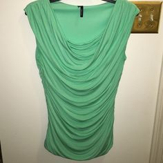 Maurice's mint colored crunched cap sleeve top Maurice's mint colored crunched cap sleeve top Maurices Tops Blouses