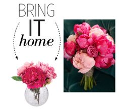 """Bring It Home: Cracking Ice Glass Vase"" by polyvore-editorial ❤ liked on Polyvore featuring interior, interiors, interior design, home, home decor, interior decorating, Dot & Bo and bringithome"
