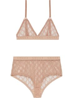 Shop online pink Gucci GG tulle lingerie set as well as new season, new arrivals daily. Phenomenal luxury selection, get it now with quick Global Shipping or Click & Collect orders. Sexy Lingerie, Lingerie Bonita, Lingerie Design, Lingerie Rouge, Lace Lingerie Set, Designer Bra, Designer Lingerie, Underwear Pattern, Emo Outfits