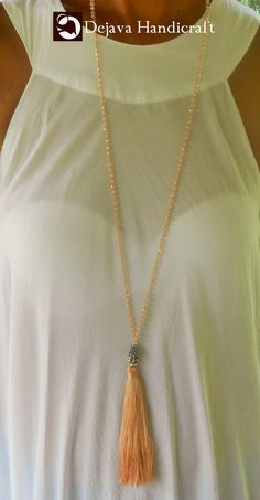Wholesale Tassel Necklace $3. Available in any color, size, and details. Shipping International from Bali.