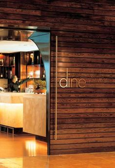 """I like the word """"dine"""" and think it would look wonderful in our dining room."""