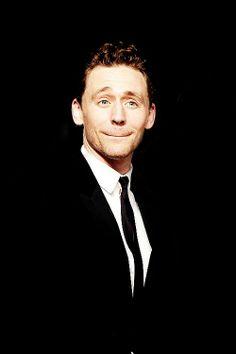 "Tom Hiddleston's ""Oh my goodness"" expression"