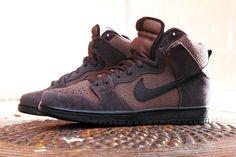 Image of Nike SB Dunk High Dark Oak