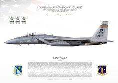 """UNITED STATES AIR FORCE Louisiana Air National Guard159TH FIGHTER WING """"The Bayou Militia""""NAS-JRB New Orleans, LA. 2016"""