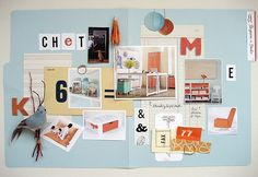 14 Studio Space by Starlee Matz by decor8, via Flickr