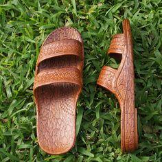 classic brown pali hawaii sandals - The Hawaiian Jesus Sandals