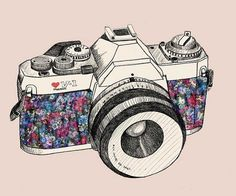 estampa máquina fotográfica - Pesquisa Google