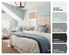 Bedroom color ideas (Sherwin Williams)