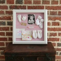 cute baby keepsake @Ashley Duran this would be so cute for baby lexi's stuff!
