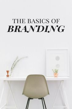BRANDING. If you're like I was when I started blogging then just reading that word made you cringe a little. Luckily I've learned a thing or two and am here to help you through all of your biggest branding fears! || The Basics of Branding || www.carriegillaspie.com