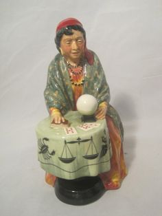 Fortune Teller   Royal Doulton Figurine 2159 by MyRedFlamingo, SOLD