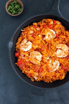 """Spicy Shrimp and Butternut Squash """"Rice"""" with Tomatoes. I made this with spicy venison sausage instead of shrimp and it was super tasty!"""