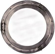 Authentic Models Cabin Porthole Mirror from Premier Gifts