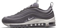Nike Nike Nike Air Max 97 Ultra '17 LX Women's Shoe Size 8 (Grey) $170 Nike first debuted this sneaker in the late 90's and it was a sensation amongst runners and athletes alike. Comfortable and sleek – this pair of sneakers features the patented Max Air technology at the sole, which provides extra cushioning during activity.  Nike also added a modern touch to this pair with details like velvet and suede. Ideal for running or daily activities.
