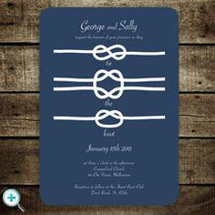 Tie the Knot Wedding Invites