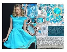 """Untitled #3943"" by brooke-evans12 ❤ liked on Polyvore featuring Sherri Hill, Accessorize, Le Parmentier, Judith Leiber, River Island, Chanel, Joana Salazar, Cartier, Blue Nile and Allurez"