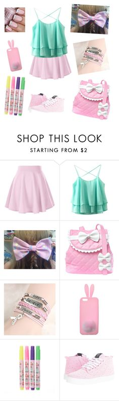 """""""School Girl Little"""" by krazy-kitten ❤ liked on Polyvore featuring My Little Pony, Sugarbaby, Miss Selfridge, Pusheen and Volley"""
