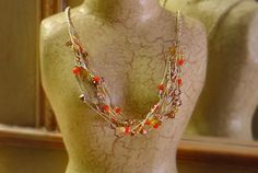 Dina Goebel Macrame pattern – autumn knotted necklace