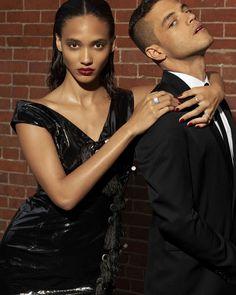 Rami Malek and Cora Emmanuel Model Fall's Slickest Looks