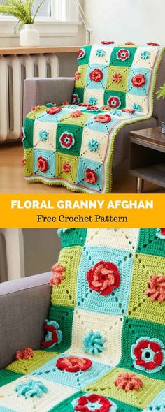 Transcendent Crochet a Solid Granny Square Ideas. Inconceivable Crochet a Solid Granny Square Ideas. Crochet Squares Afghan, Granny Square Blanket, Granny Square Crochet Pattern, Afghan Crochet Patterns, Granny Squares, Crochet Granny, Stitch Patterns, Unique Crochet, Modern Crochet