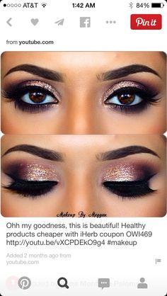 I love the glitter