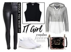 """""""Sans titre #182"""" by celia-cattoir ❤ liked on Polyvore featuring NIKE and Lanvin"""